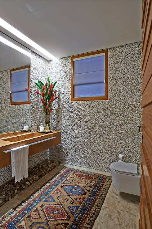 8 rustikale Badezimmer mit dem gewissen Etwas