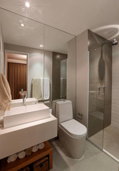 Como decorar um banheiro estreito e comprido -> Decoracao De Banheiro Estreito E Comprido