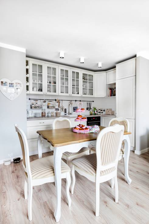 L 39 appartamento dallo stile provenzale tutto da copiare for Si riportano in cucina