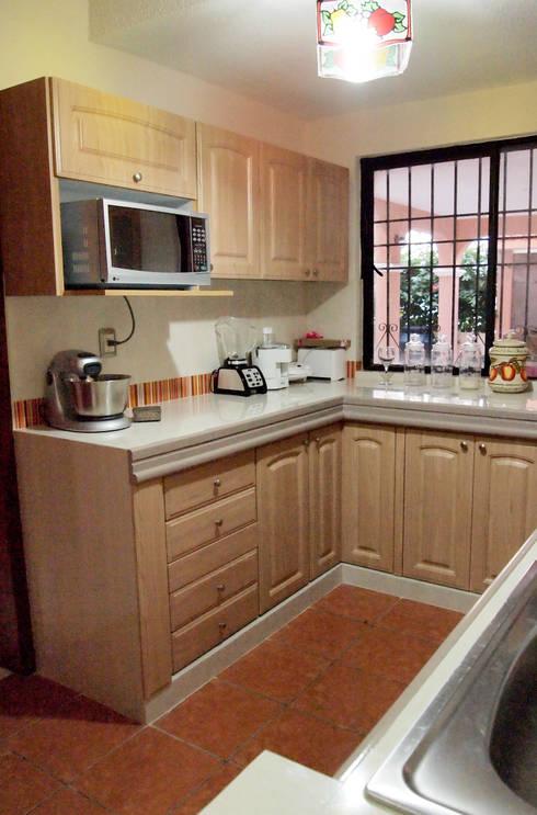 Cocinas peque as 10 ideas fabulosas - Como montar muebles de cocina ...