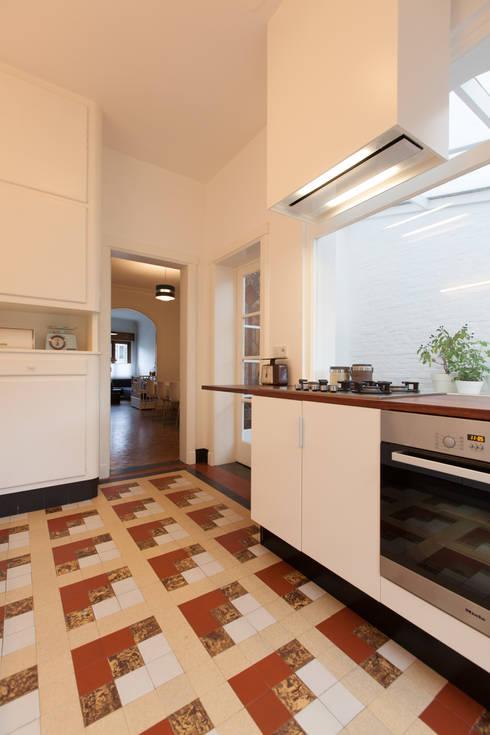 Inrichting van een jaren dertig woning te deurne - Meubels studio keuken ...