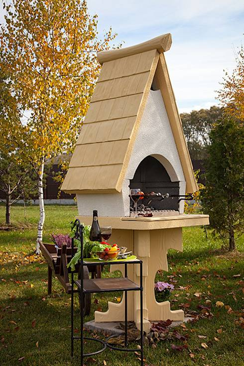 17 asadores que caben perfectamente en patios peque os for Jardines pequenos esquineros
