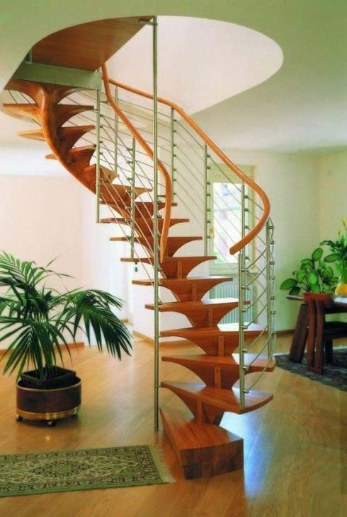Projekty, translation missing: pl.style.korytarz-przedpokój-i-schody.nowoczesny Korytarz, przedpokój i schody zaprojektowane przez MasifPanel PARK