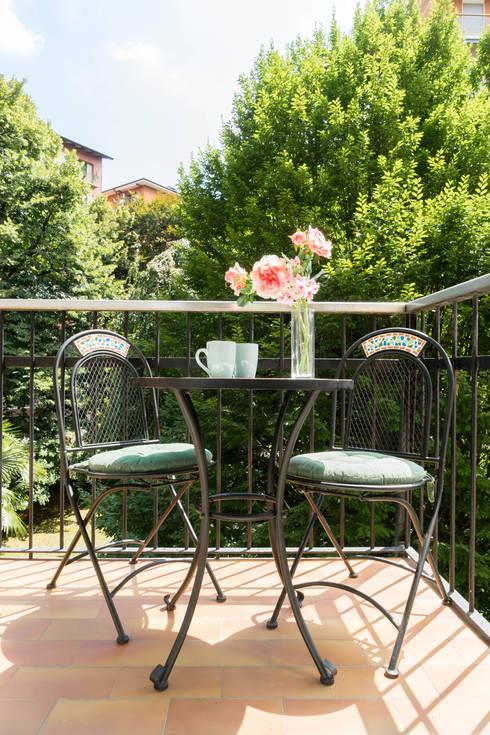 Un appartamento con terrazzo da vivere tutto l anno for Piante da balcone tutto l anno