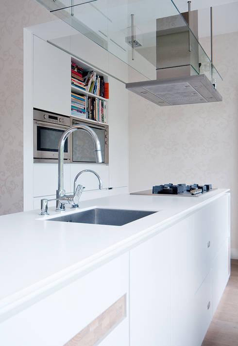 Zachte moderne inrichting woonhuis utrecht - Moderne interieurarchitectuur ...