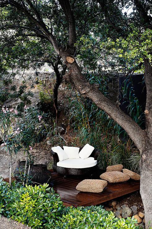 16 ideas fabulosas para decorar tu jard n o tu patio. Black Bedroom Furniture Sets. Home Design Ideas
