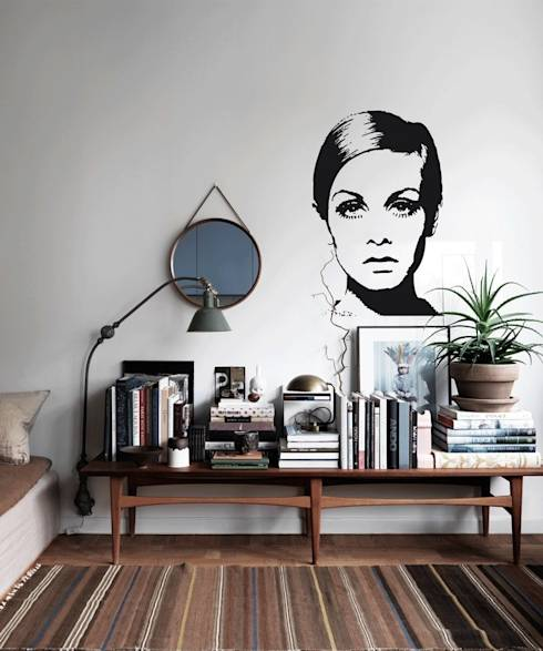 kreative wandgestaltung. Black Bedroom Furniture Sets. Home Design Ideas