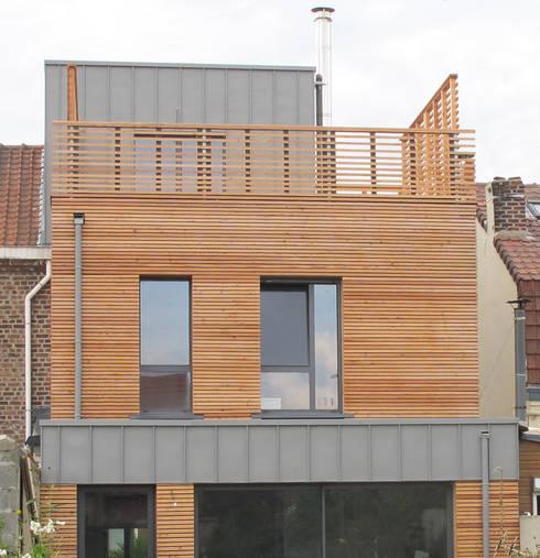 Extension mont e sur des chasses for Annexe maison prix