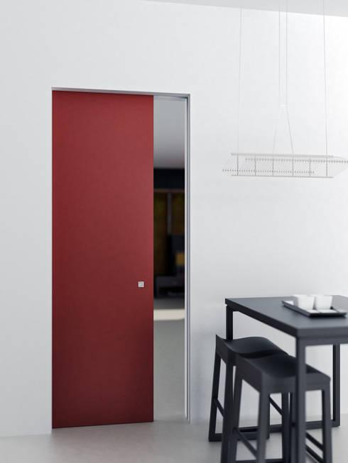 10 motivi per scegliere le porte interne in laminato for Porta scorrevole economica