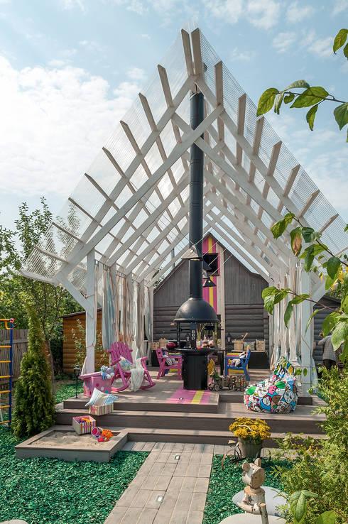 15 idee per una fantastica terrazza rustica (con barbecue!)