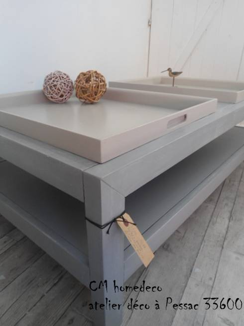 Diy fabriquer sa table basse - Fabriquer sa table de salon ...