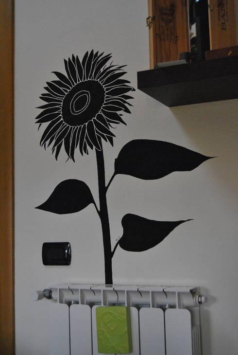 Con i fiori sulle pareti sempre primavera in casa - Deumidificatore bagno parete ...