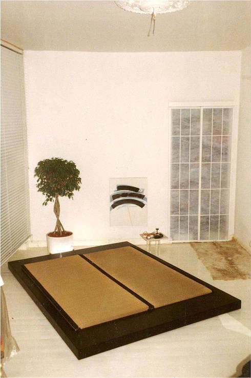 Fut n una cama entre oriente y occidente - Cama estilo tatami ...