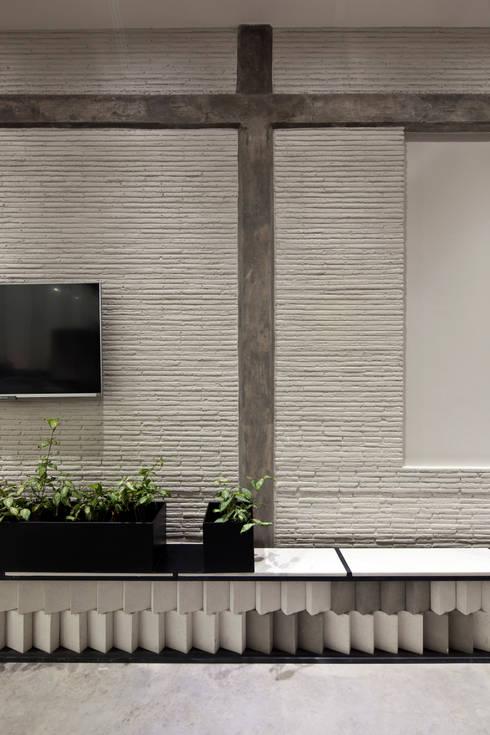 modern Walls & floors by Taller David Dana