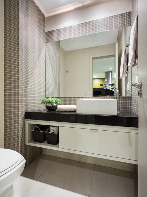 Ideias fabulosas para banheiros pequenos -> Banheiros Planejados Favorita