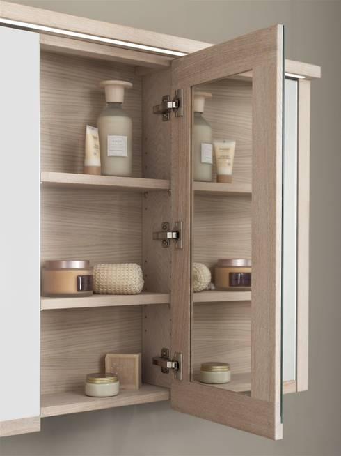 Elementi d 39 arredo essenziali gli specchi per il bagno - Specchi contenitori bagno ...
