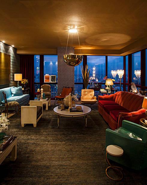 Leven in een luxe woonkamer - Kleur harmonie leven ...