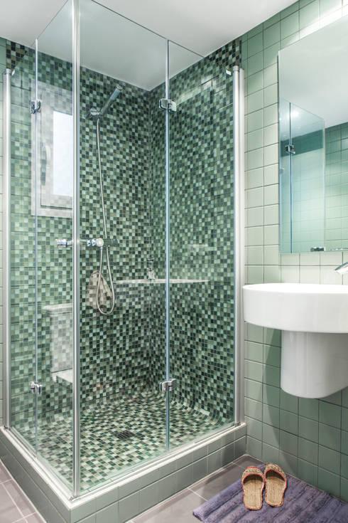 Azulejos para el ba o pautas para la perfecta elecci n for Cubrir azulejos bano