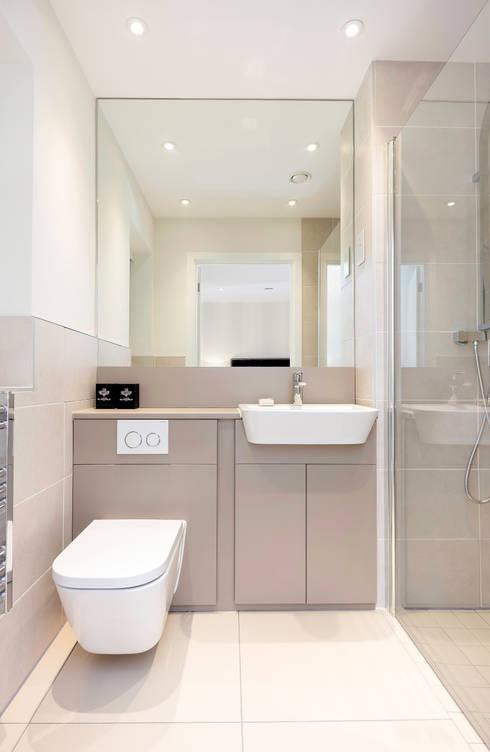 20 Casas De Banho Pequenas Modernas E Espectaculares