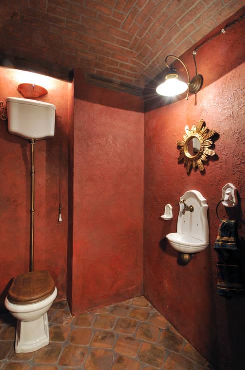 Estilo rústico para banheiros pequenos # Banheiro Simples Rustico
