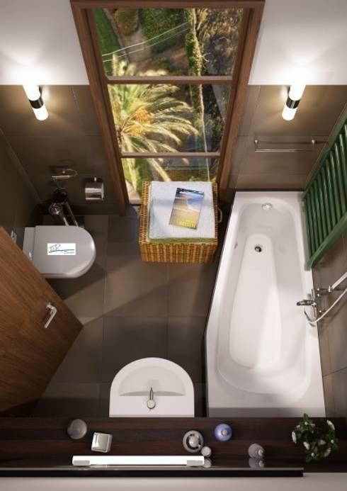 Die 9 einfachsten tricks um ein kleines bad zu gestalten for Bad gestalten 3d