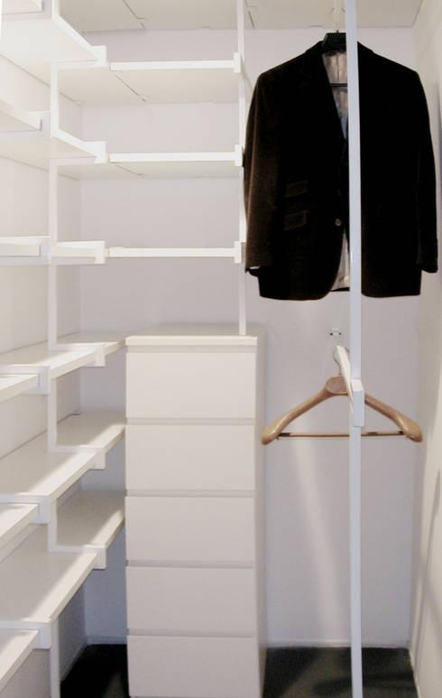 Closets minimalistas por na3 - studio di architettura