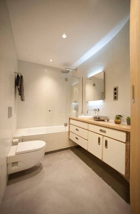 9 unglaublich coole ideen deine r ume mit beton zu versch nern. Black Bedroom Furniture Sets. Home Design Ideas