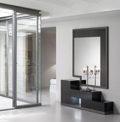 Casas modernas 10 ideas de muebles espectaculares for Muebles vestibulo moderno