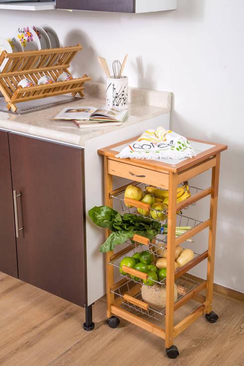 Il carrello da cucina non solo funzionalit - Carrello cucina moderno ...