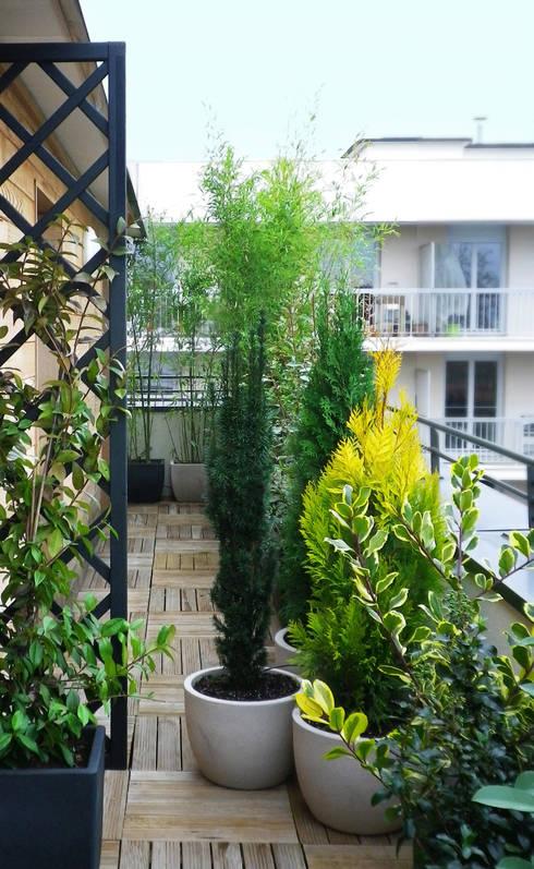25 mani res d ins rer des plantes sur votre balcon. Black Bedroom Furniture Sets. Home Design Ideas