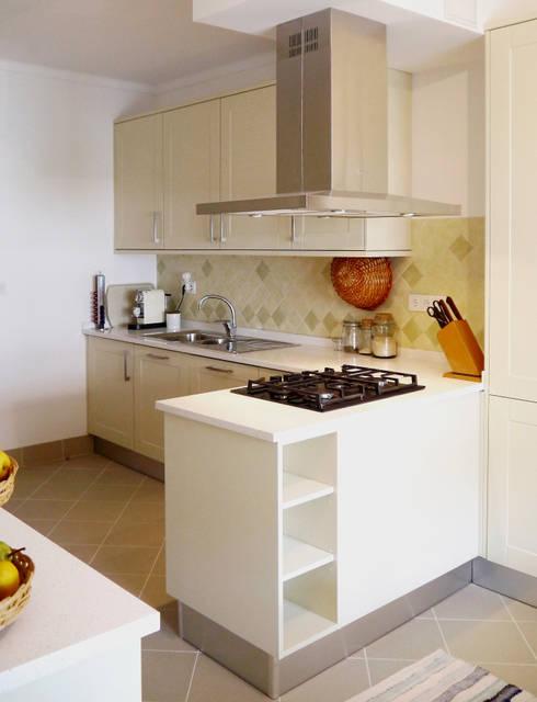 9 cocinas sencillas funcionales y modernas - Cocinas modernas sencillas ...