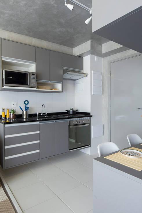 7 mini cucine moderne da copiare for Piccola cucina a concetto aperto
