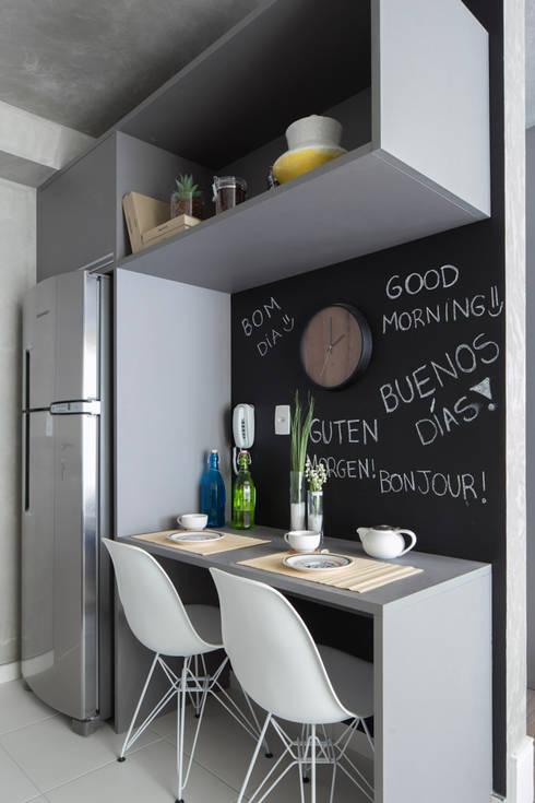 8 bell simas barras de cocina perfectas para casas con - Cocina minimalista pequena ...