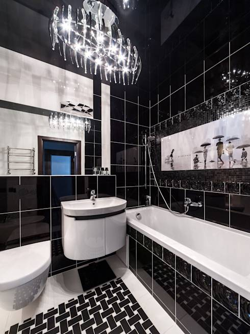 Baño De Tina Concepto:Baños de estilo translation missing: mxstylebañosmoderno por