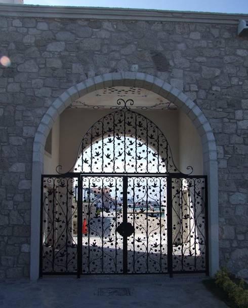 Sicuri ed eleganti i cancelli in ferro battuto - Cancelli per porte finestre ...