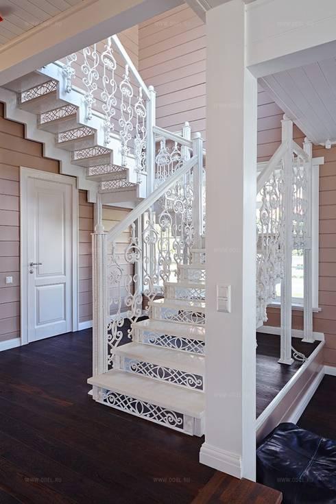 10 barandales de herrer a que har n lucir tu escalera al - Barandales modernos para escaleras ...