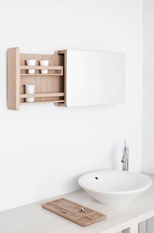 Baños de estilo translation missing: mx.style.baños.escandinavo por Loft Kolasinski