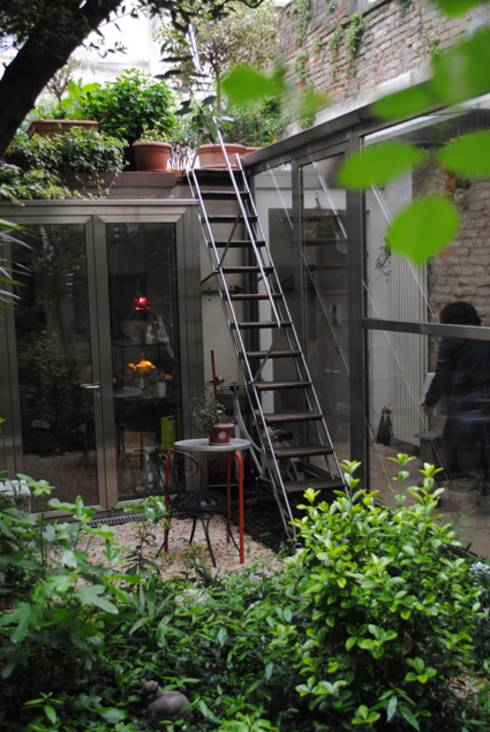 10 dise os r sticos para jardines peque os - Jardin rustico fotos ...