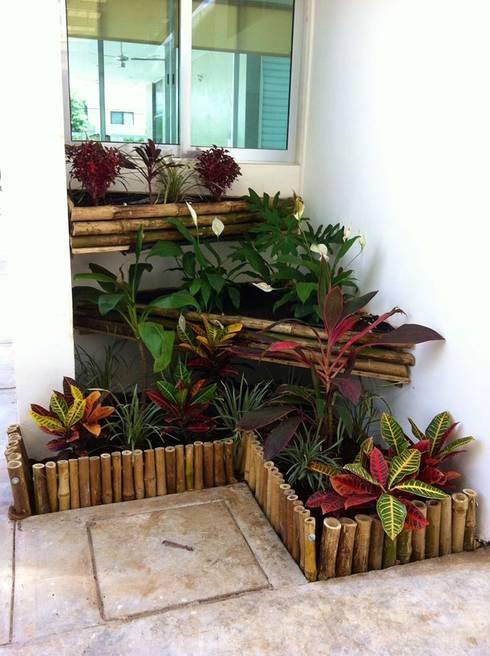 14 jardins pequenos para se inspirar e fazer igual for Jardines redondos pequenos