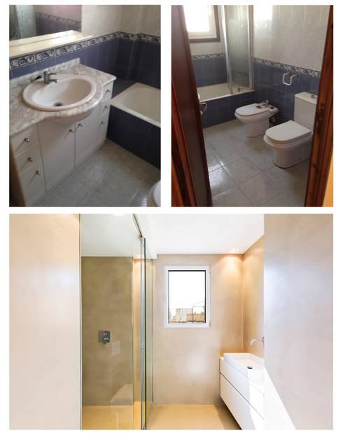 Reforma Baño Mallorca:Apartamento KW Santa Catalina: de estilo de ISLABAU constructora