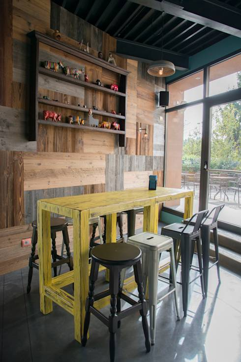 Tavoli da bar ecco come avere un locale all 39 ultima moda for Bar stile industriale