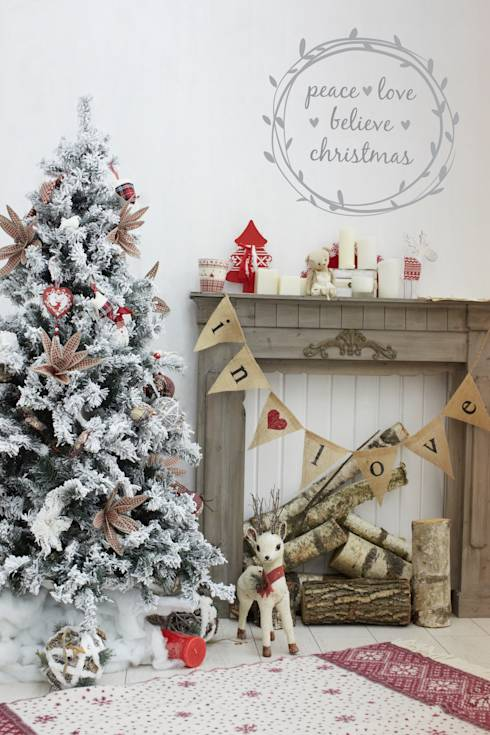 14 cheap ways to decorate your home for christmas
