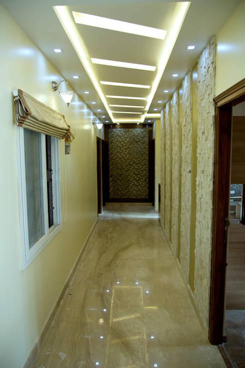 A trendy suburban villa in bangalore for Living room designs bangalore