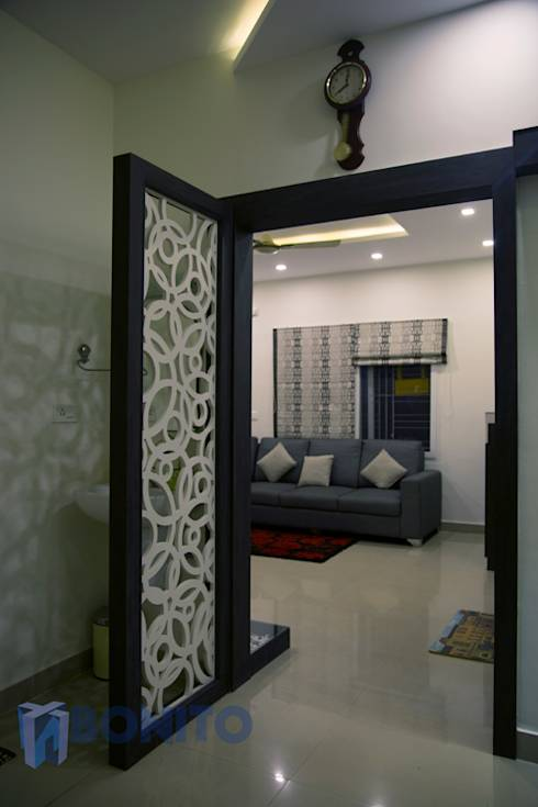 Home of color in the heart of bangalore for Door design cnc