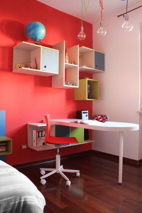 Study room ideas for studious children for Study interior styling