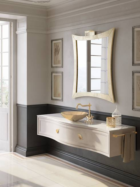 10 stili per 10 mobili sospesi per un bagno da sogno - Mobili per bagni classici ...