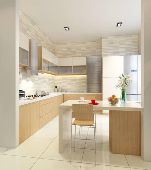 Cocinas modernas 10 dise os hermosos y super familiares for Cocinas super modernas