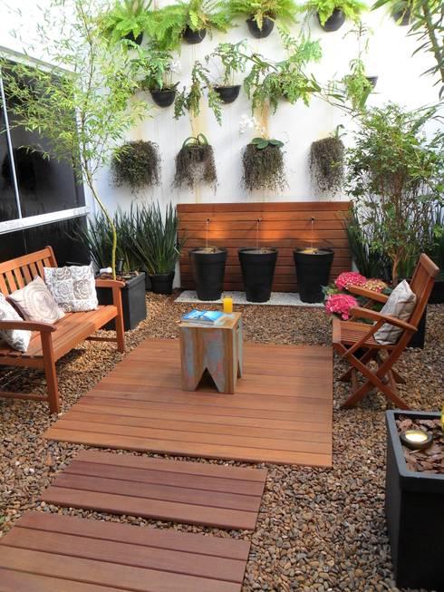 13 ideas con piedras para decorar tu jard n f ciles de hacer - Decoracion patios pequenos modernos ...