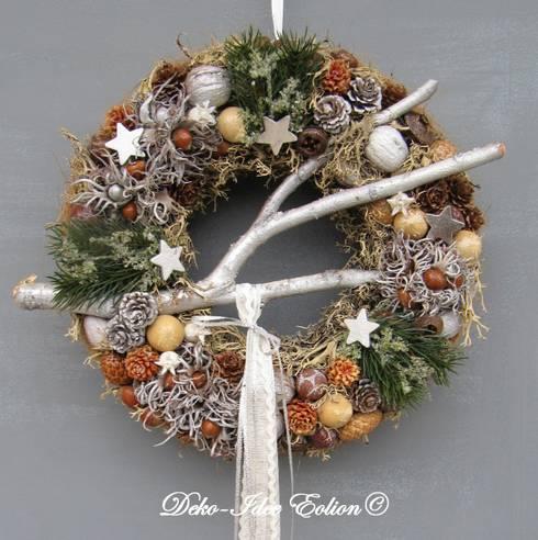 Stimmungsvolle weihnachtsdeko f r den au enbereich - Weihnachtsdeko landhausstil aussen ...