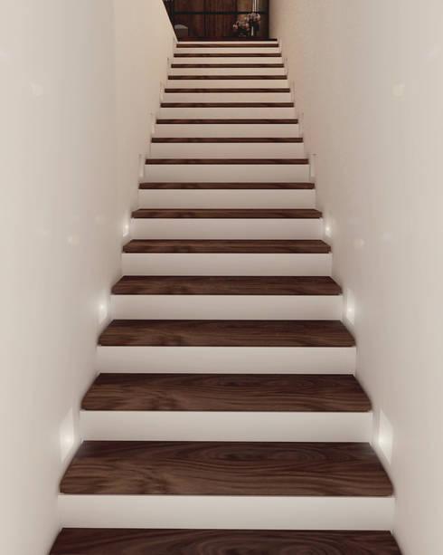 Escaleras 9 dise os para casas modernas - Escalera caracol prefabricada ...